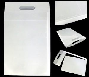 クリアファイルバッグ 3ウェイホルダー 手提げ 封筒 オーダーメイド
