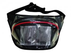 透明ウエストポーチ 透明ウエストバッグ オリジナル オーダーメイド