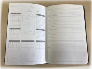 サッカーノート オリジナル ビニール オーダーメイド 特注 pvc OEM PB