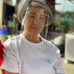 眼鏡タイプ コロナ対策商品 コロナ対策グッズ PETフェイスシールド 飛沫感染防止
