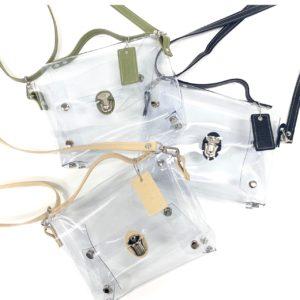 PVC 透明 2way-clear-bag  手提げバック メンズ レディース かわいい おすすめ おしゃれ とは 印刷 製作 制作 作成 ビニール製品 オーダーメイド オリジナル ビニール工房 株式会社三共 岐阜県岐阜市 OEM PB