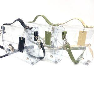 PVC 透明 2way-clear-bag  ビニール製品 オーダーメイド オリジナル ビニール工房 株式会社三共 岐阜県岐阜市 OEM PB